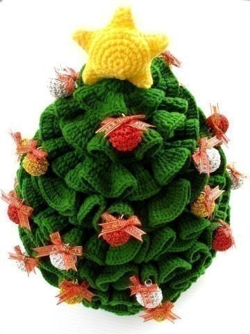 Crochet Pattern- CHRISTMAS TREE -Toys -PDF