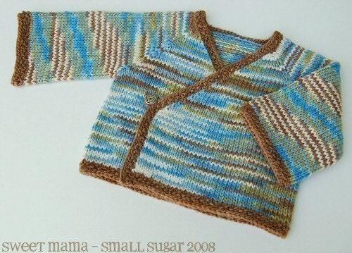 Lace Kimono Knitting Pattern : Knitted Kimono Pattern   Catalog of Patterns