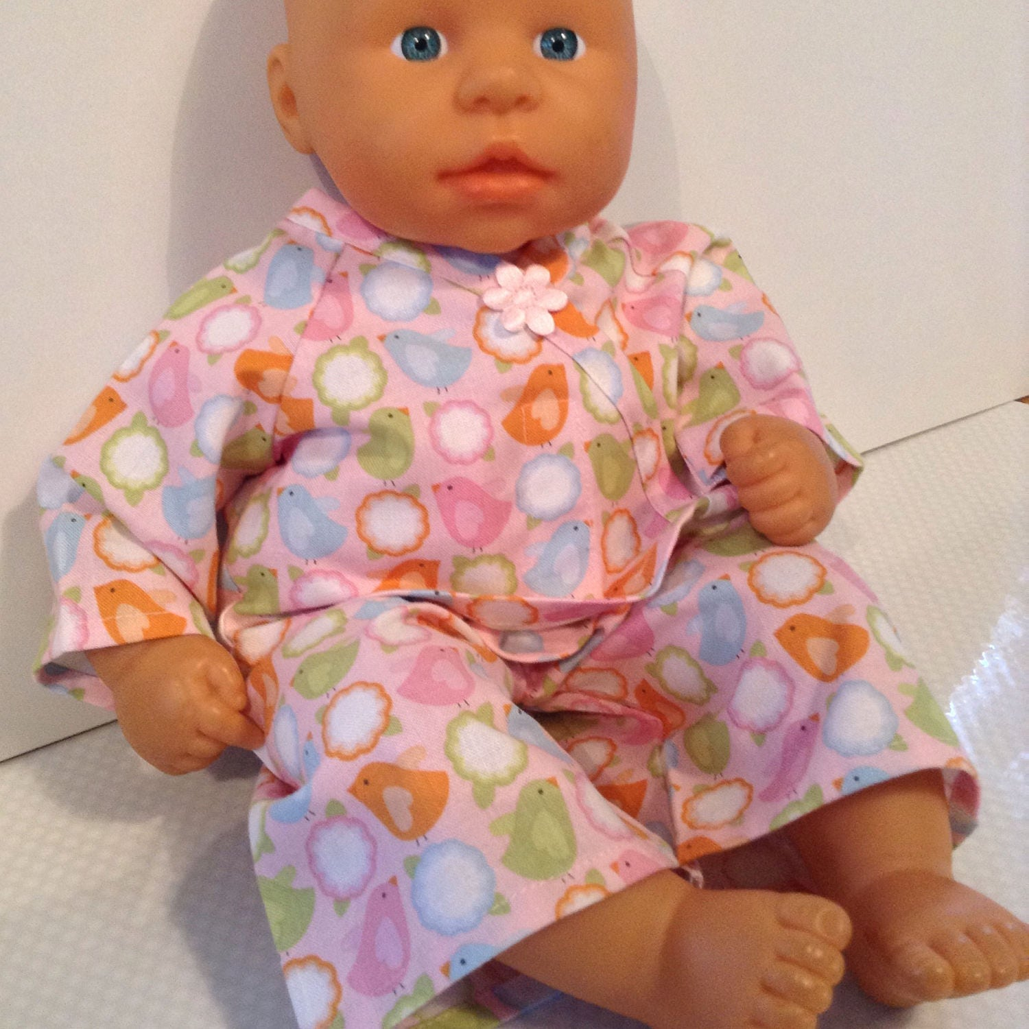Dolls Clothes 14  15 inch (36  38 cm) Pyjamas To fit Corolle My First Baby Annabell Bitty Baby etc
