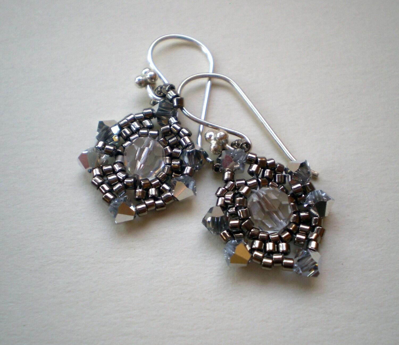 Sparkling Silver Dream Earrings