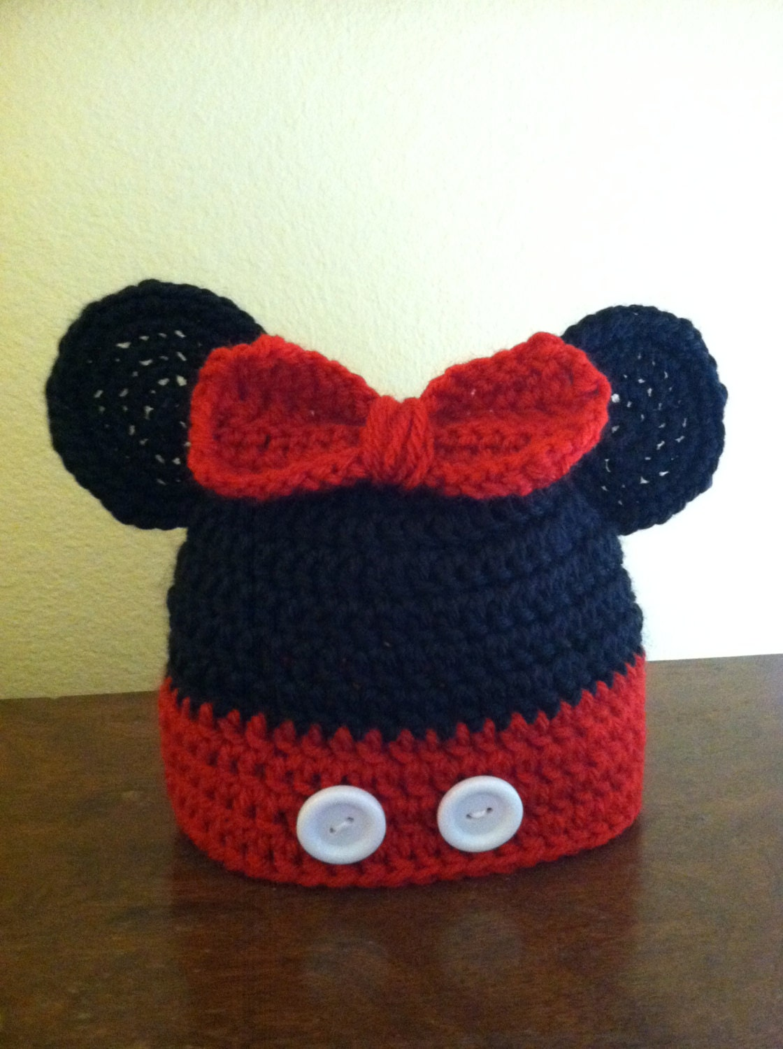 Minnie Mouse Crochet Hat Pattern Child : Unavailable Listing on Etsy