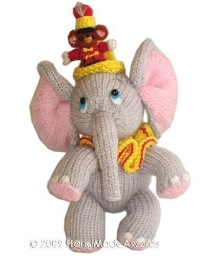 Sweet ELEPHANT with LITTLE FRIEND pdf Email CROCHET PATTERN