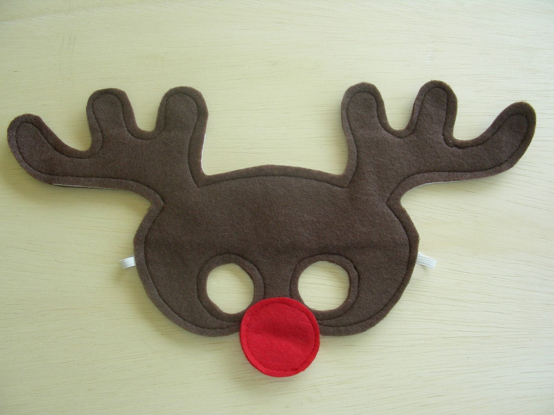 Child Reindeer Mask