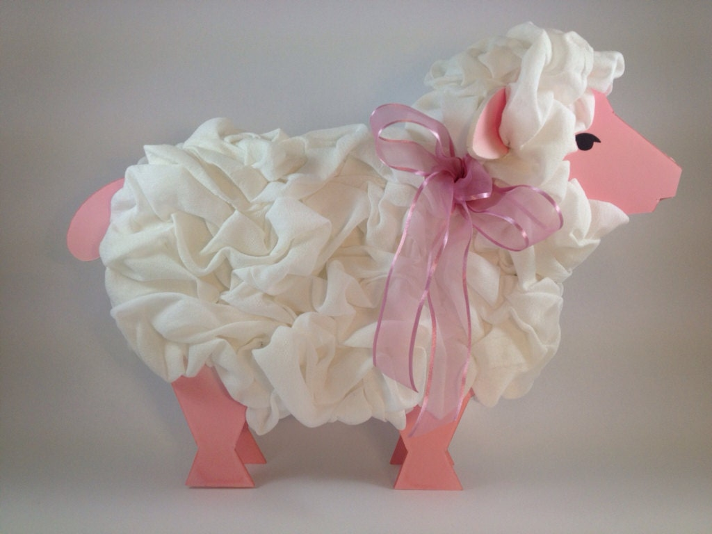 items similar to lamb centerpiece baby shower decoration on etsy