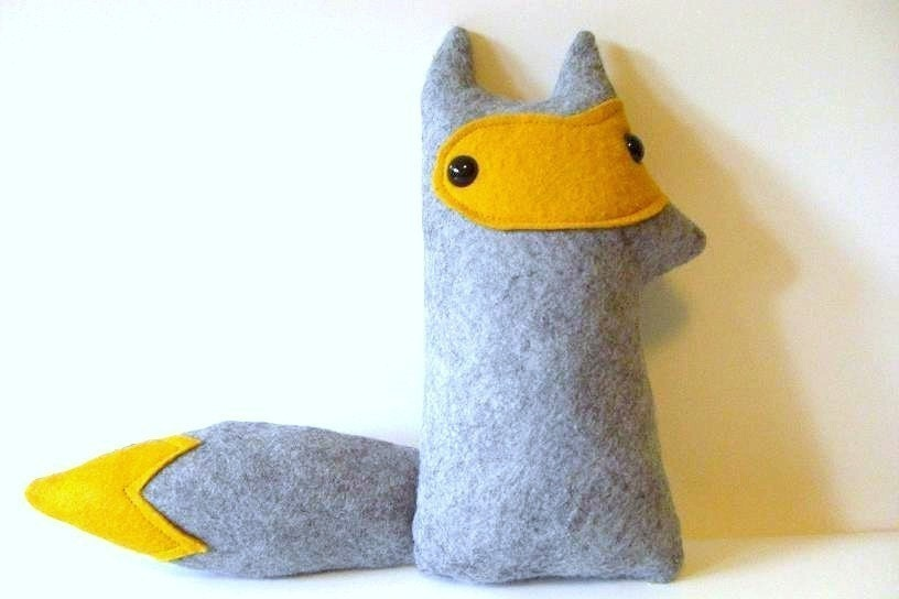 SALE - Dandelion Cloud - Woodland Fox Plush- Made to order