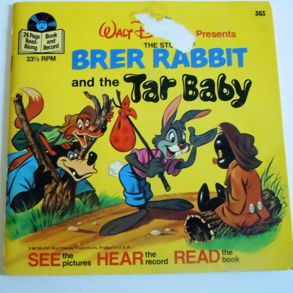 Brer Rabbit And The Tar Baby Book Brer Rabbit Tar Baby Book