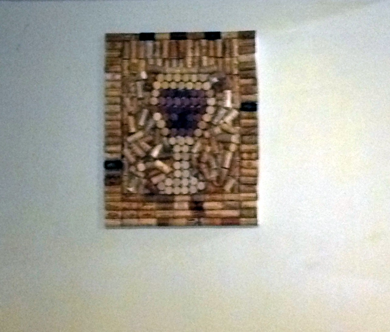 Items similar to Wine cork canvas wall decor on Etsy