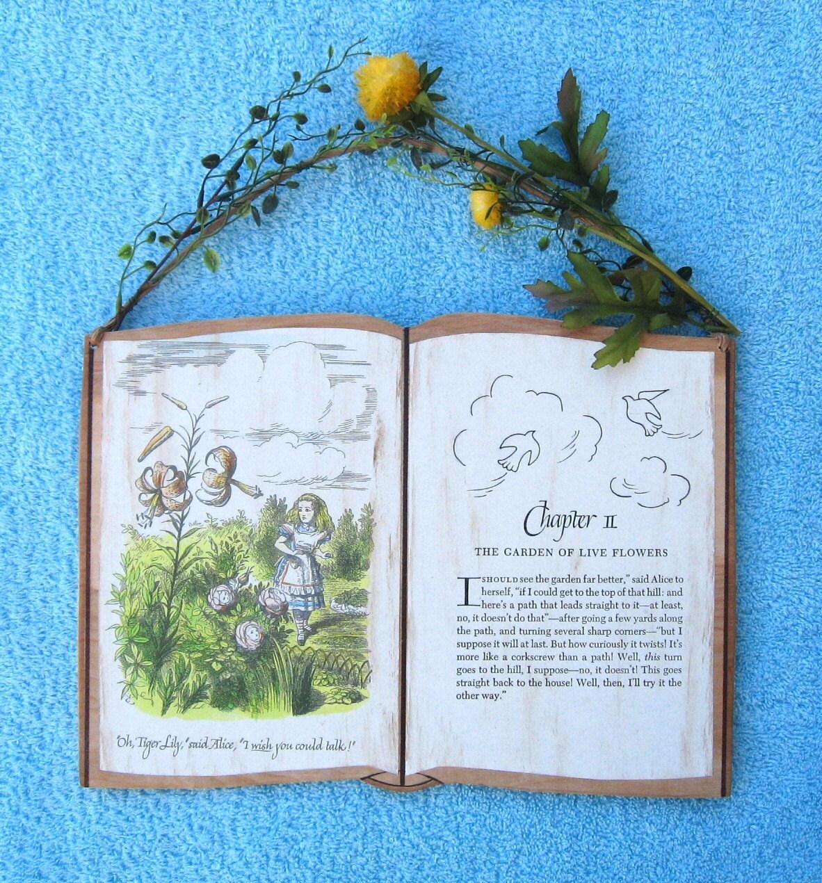 Кролик Питер Беатрикс Поттер экологию Keepsake Vintage дерево детская комната Storybook Войти на Storytime АРТ