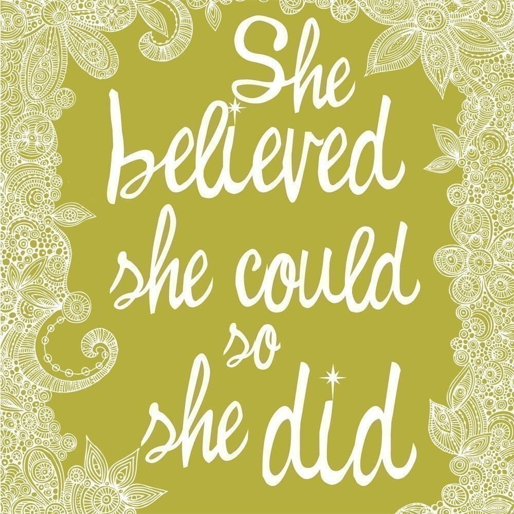 Have A Little Faith In You – Encouraging Words For New Etsy Sellers
