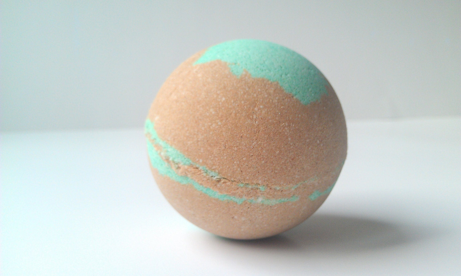 Bath Bomb Mint Chocolate- All Natural, Essential Oils, Holiday Gift Ideas, Gifts For Her, 5.5 oz - ZENfulNaturals