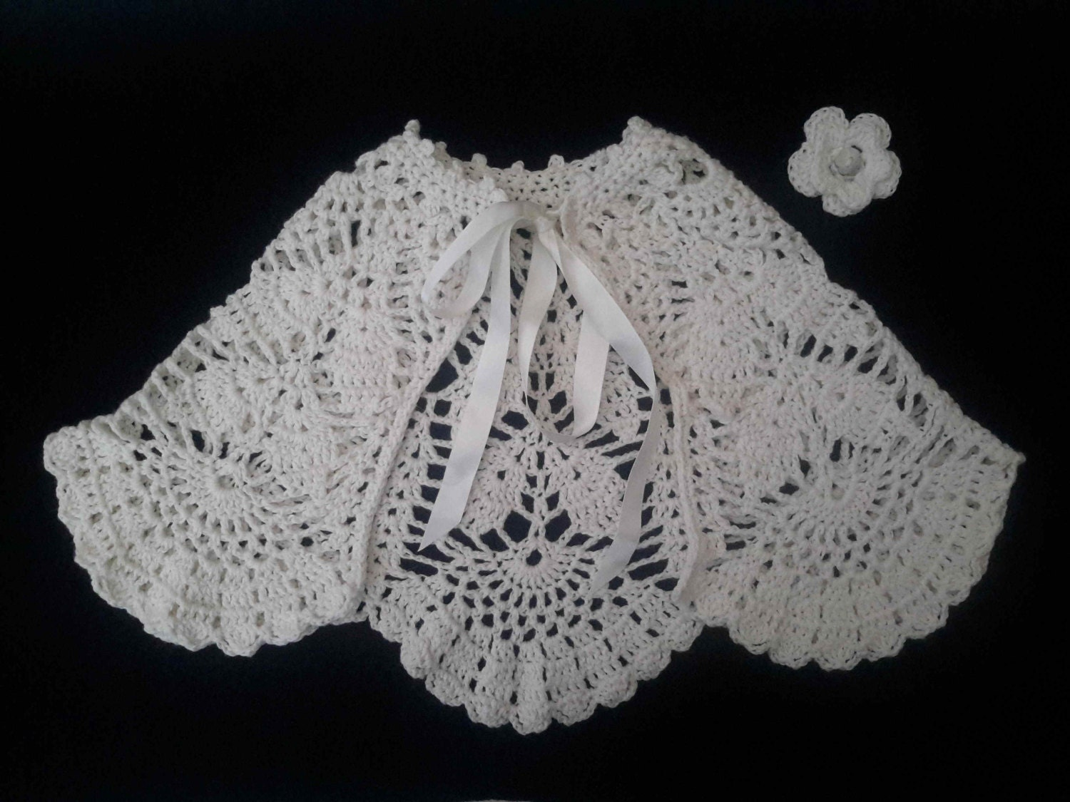Fine cashmere mix lace baby cape heirloom cream baby cape sweater heirloom baptism christening outfit luxury baby gift. 61218 months