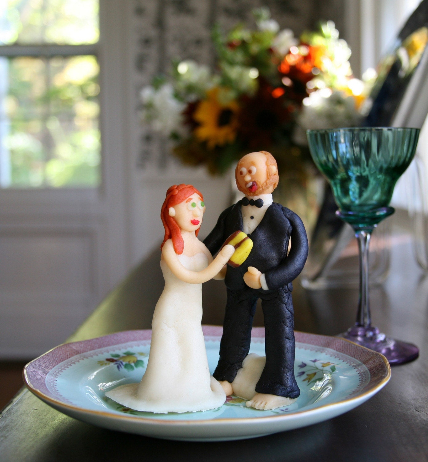How To Make Marzipan Wedding Cake Toppers