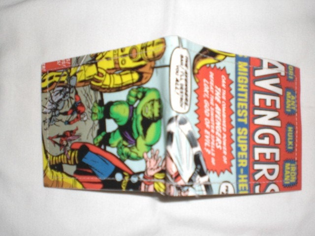 Avengers Comic Book Wallet