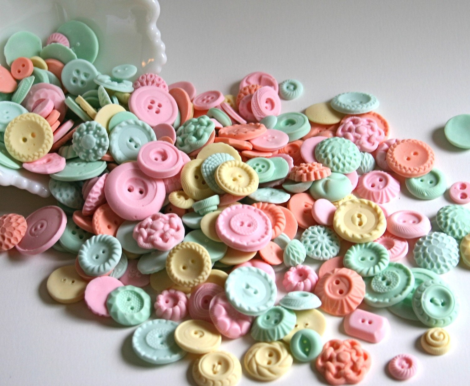 Peppermint Candy Buttons SAMPLE 15