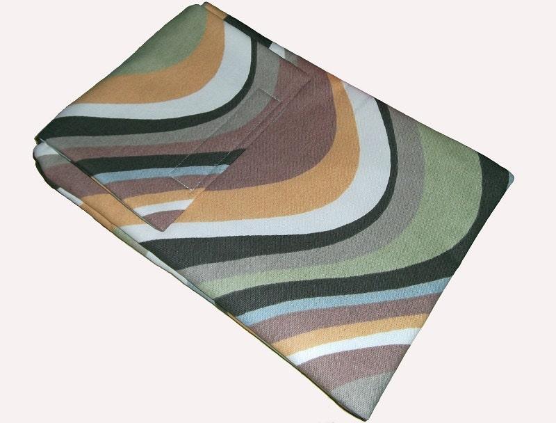 Brown Retro Inspired Swirl eReader Laptop Case Cover Bag fits Kindle Tablet  Gift Idea