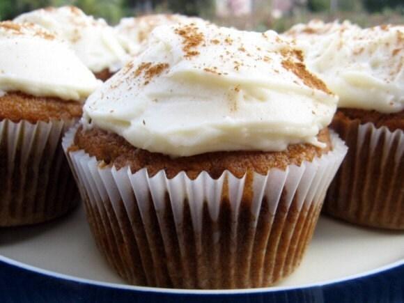 Dozen Fall Spice Cupcakes