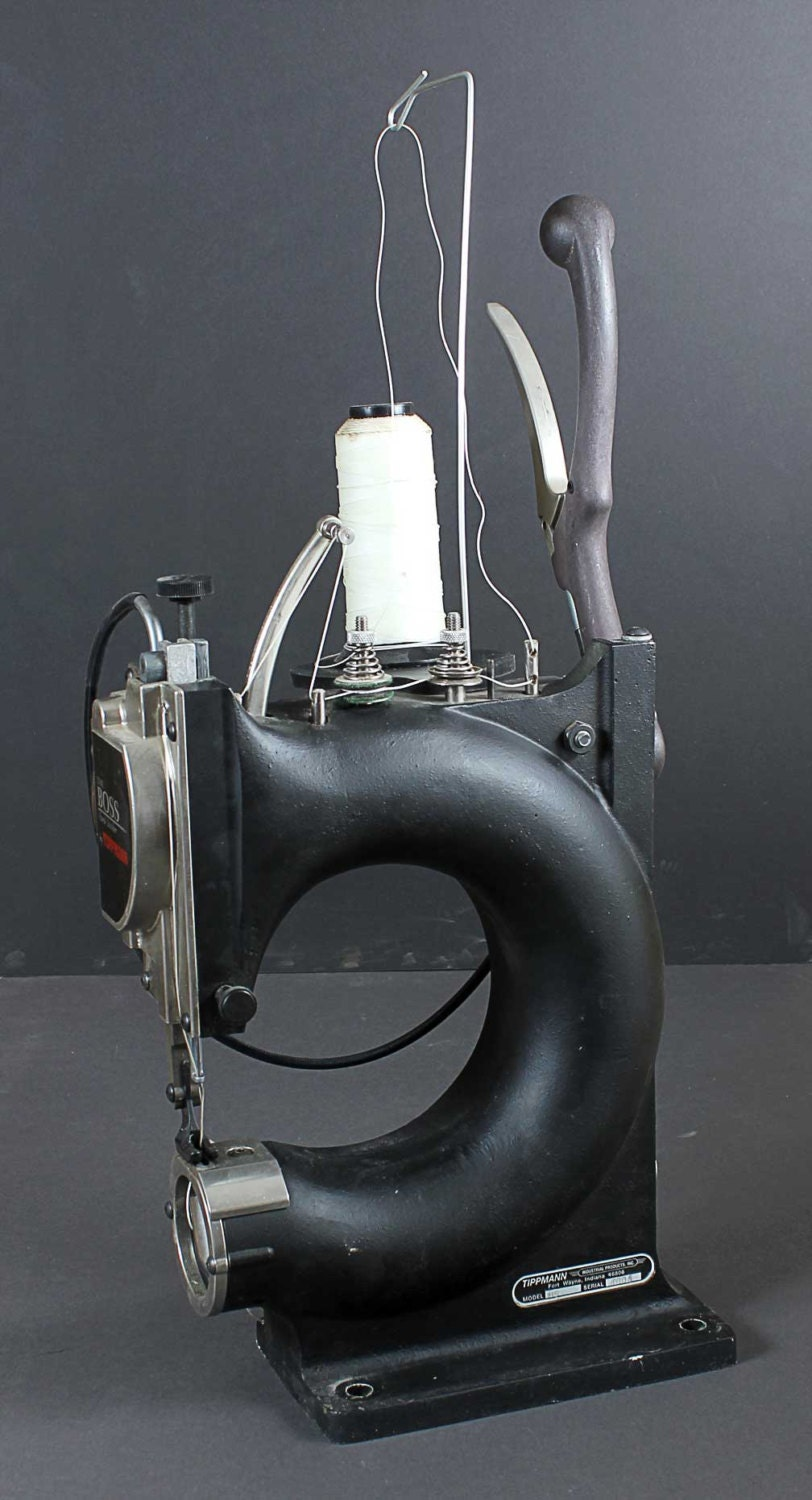 tippmann leather sewing machine used