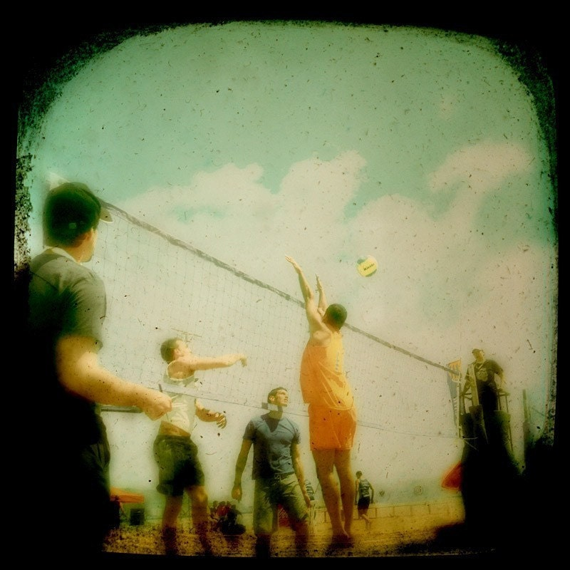Beach Volleyball by opart