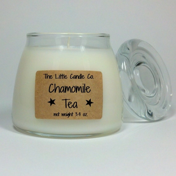 Chamomile Tea Soy Jar Candle - TheLittleCandleCo