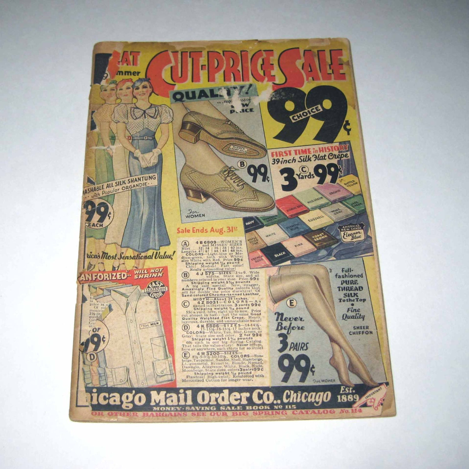 vintage 1930s chicago mail order co s by