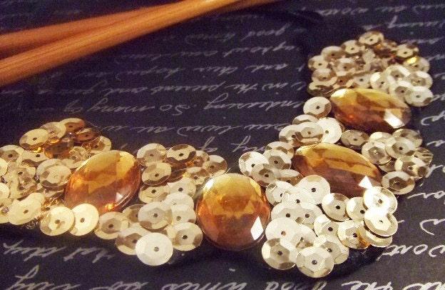 Glittery Necklace