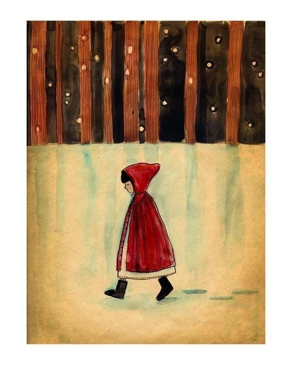 Lonely Walk print