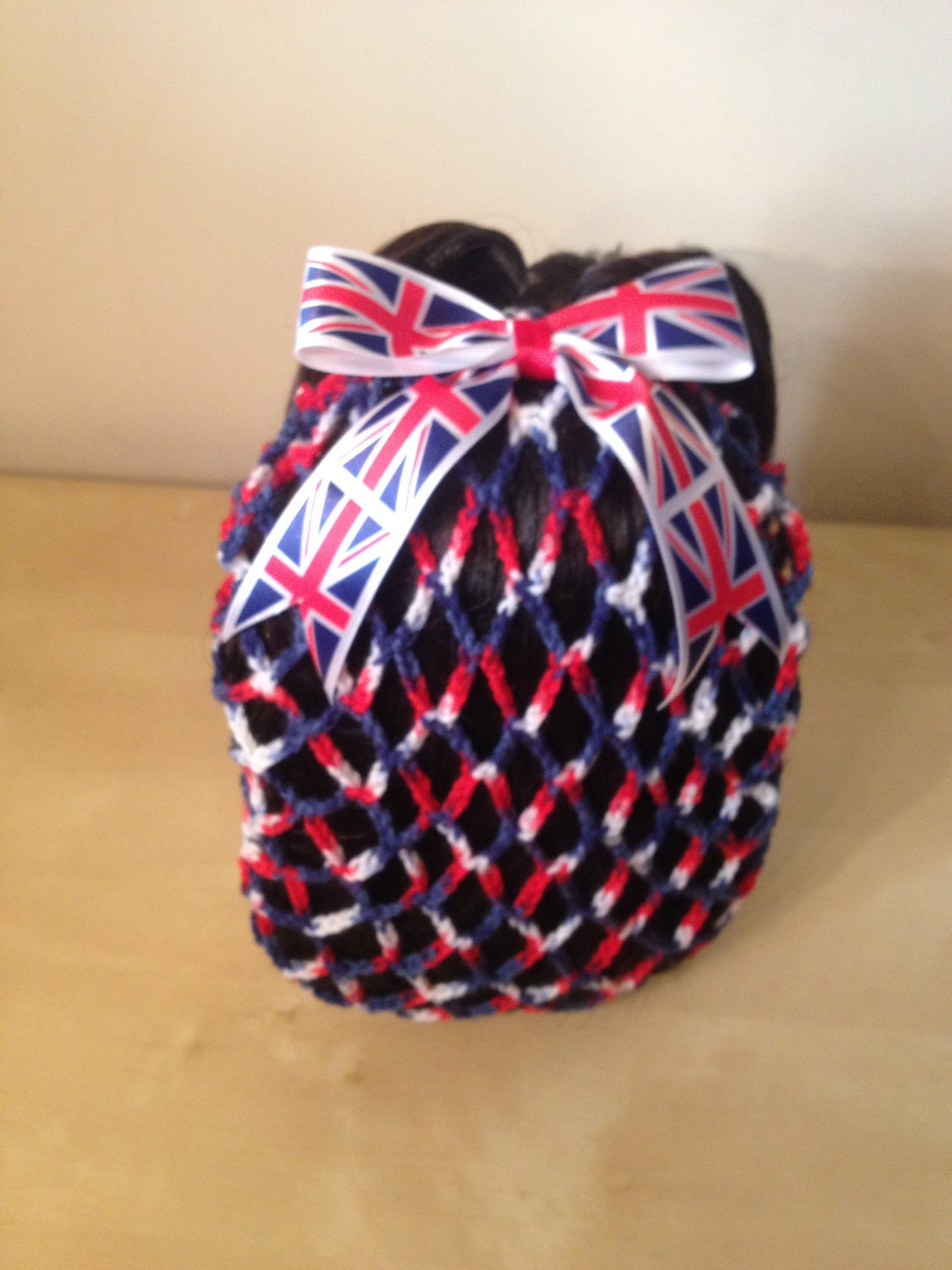 Patriotic vintage snood