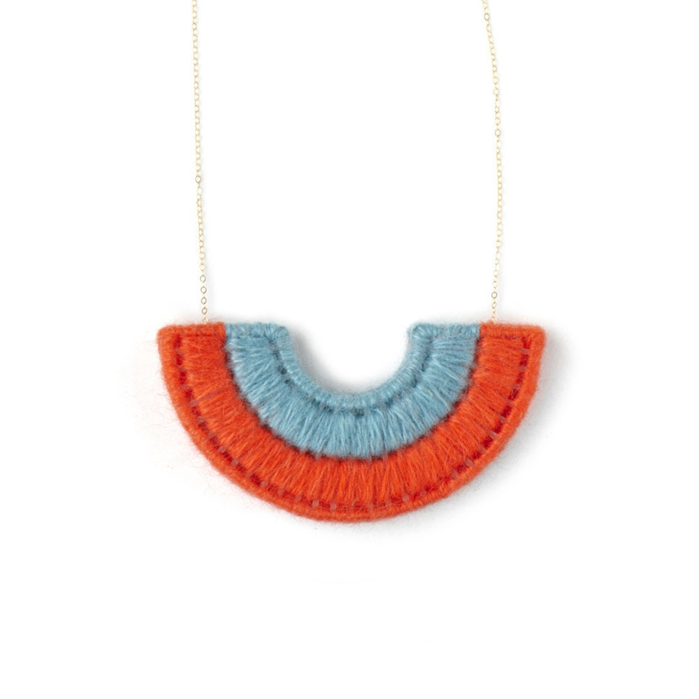 The Mobear Collection: Semi Circle Necklace