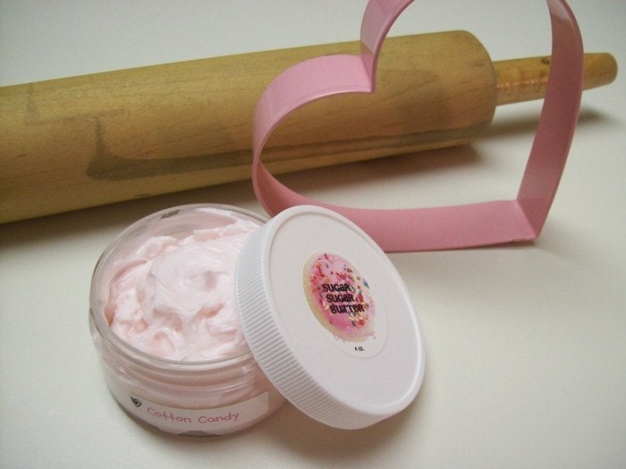 WHIPPED PINK COTTON CANDY BODY BUTTER LOTION - 4oz.