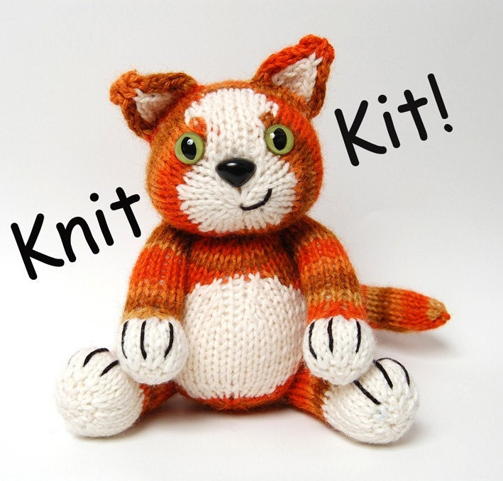 کیت -- بافندگی کیت برای جاسپر زنجبیل تام بچه گربه (بدون سوزن)