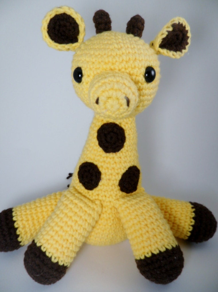 Amigurumi Jirafa Crochet : Items similar to Crochet Amigurumi Giraffe on Etsy