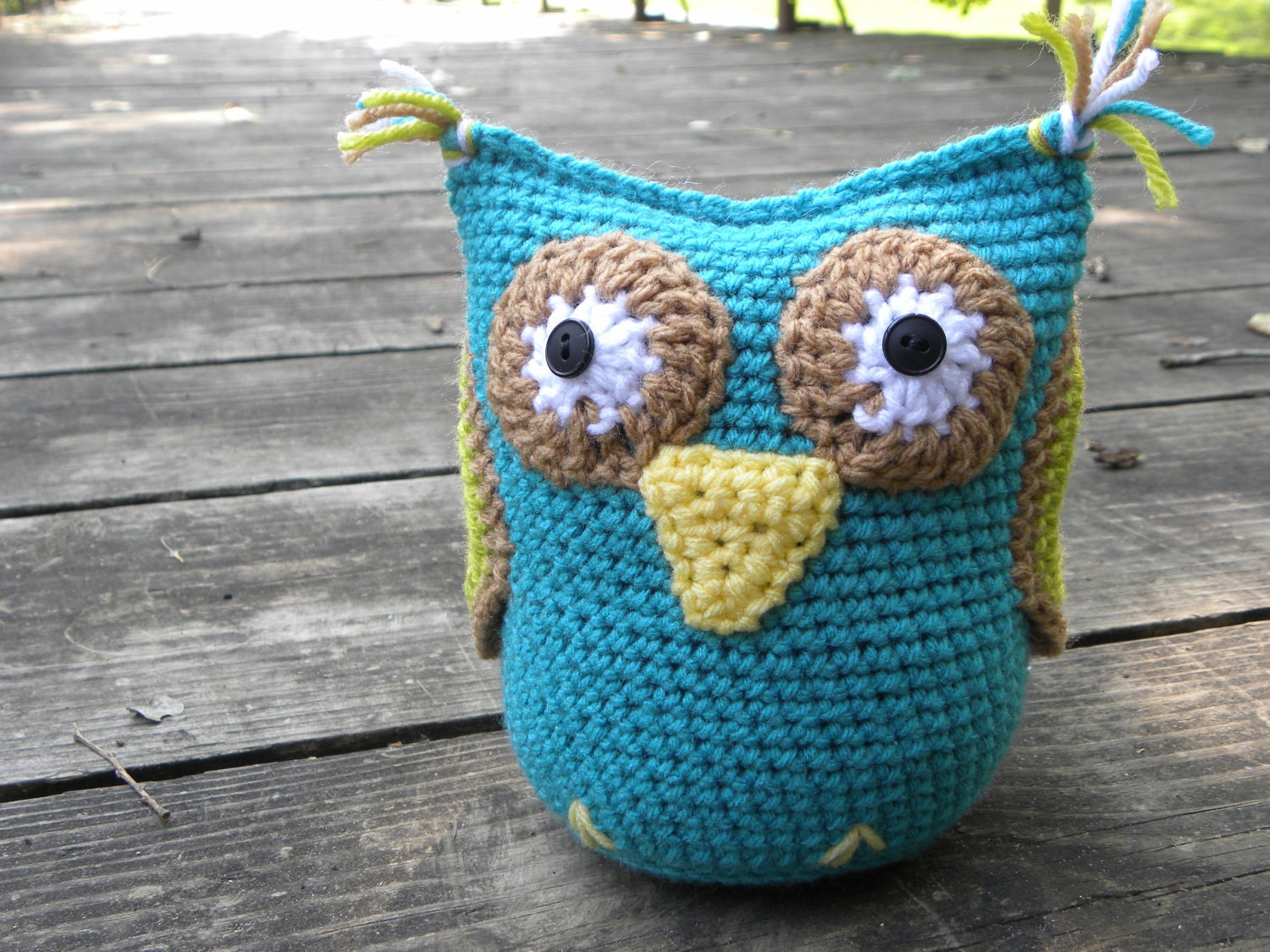 Easy Owl Amigurumi Crochet Pattern Instant by AshTreeCrochet