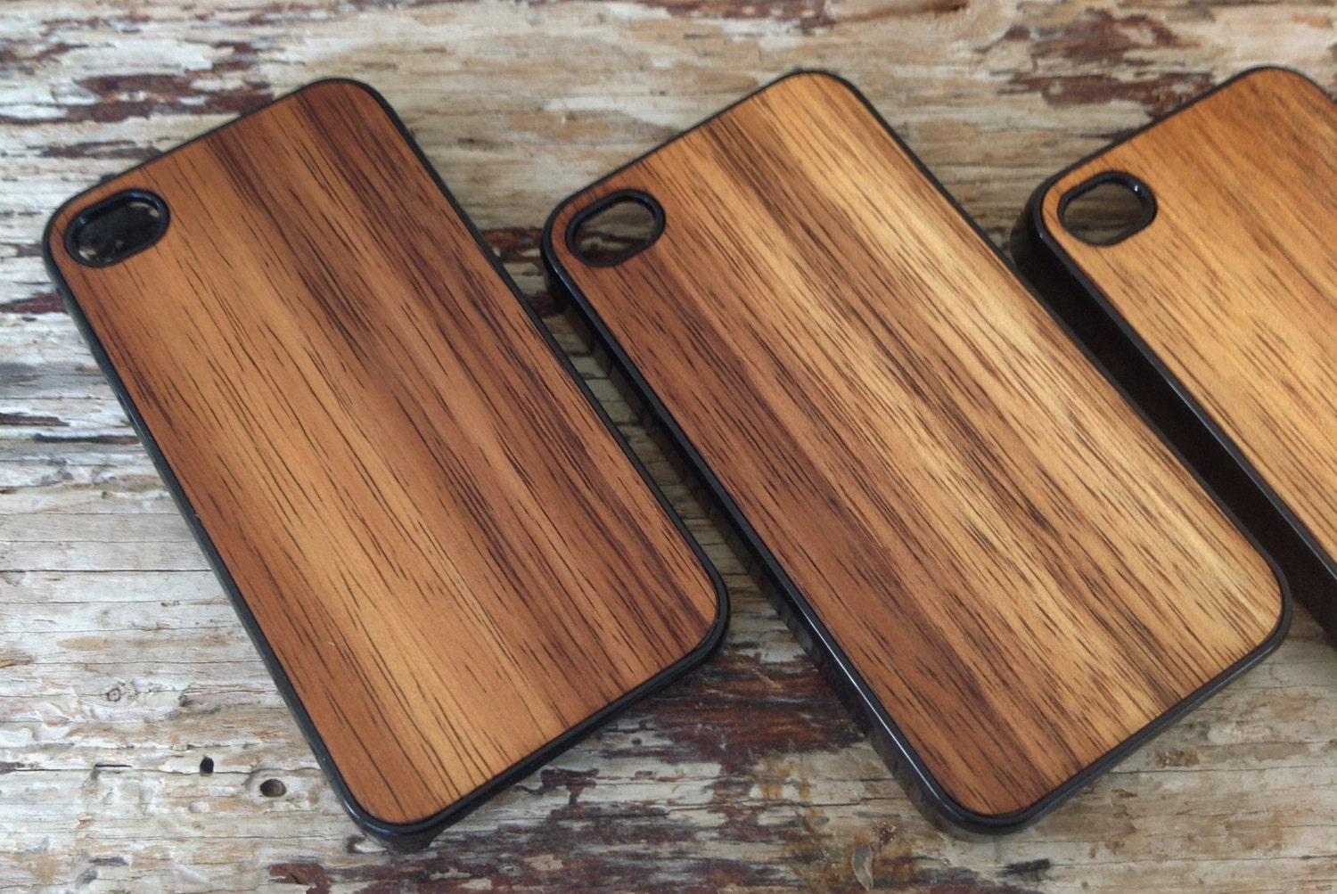iPhone Case HAWAIIAN KOA Wood iPhone Case for iPhone 5 & 5s - iPhone Case (light Koa) - woodulike