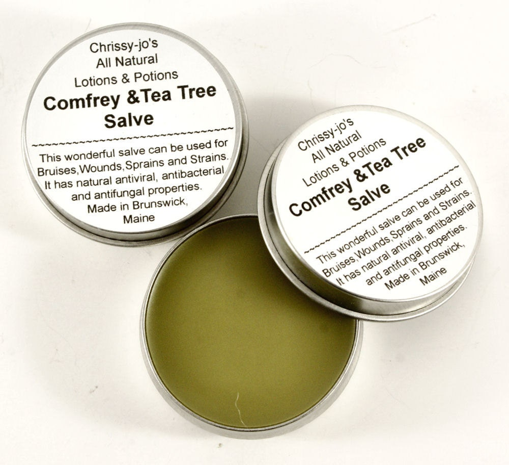 Comfrey & Tea Tree Oil  Salve 2 OZ - KindredImages