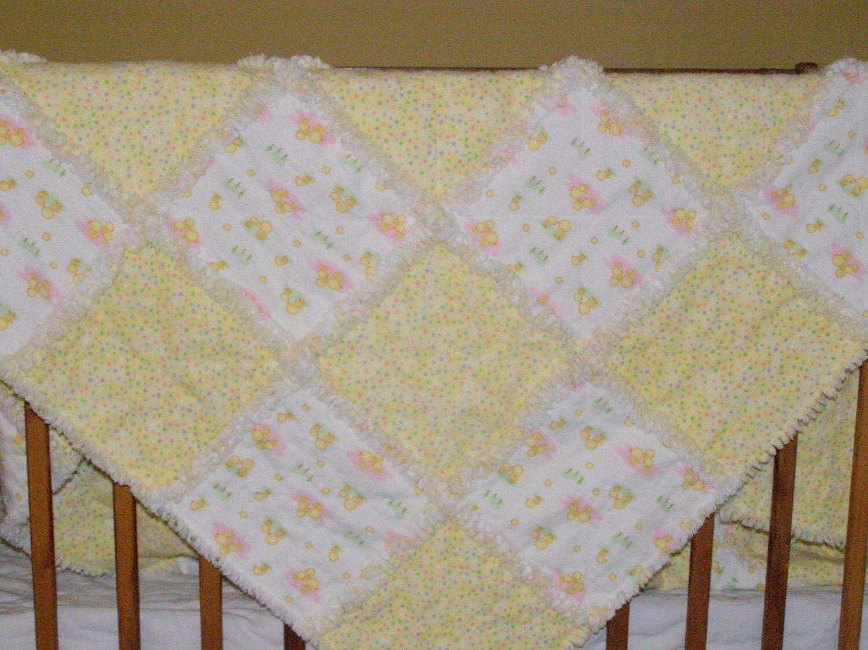 Blossom rag quilt from JoAnn at  www.joannstores.com