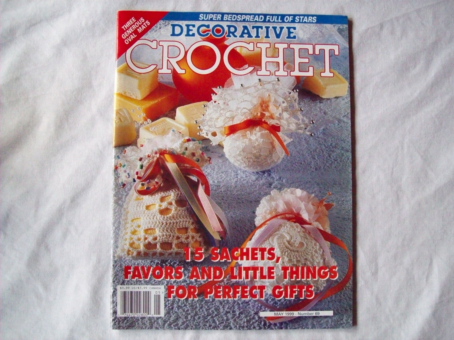 Decorative Crochet : Decorative Crochet Magazine May 1999 Issue 69 by CozyHomeCrochet