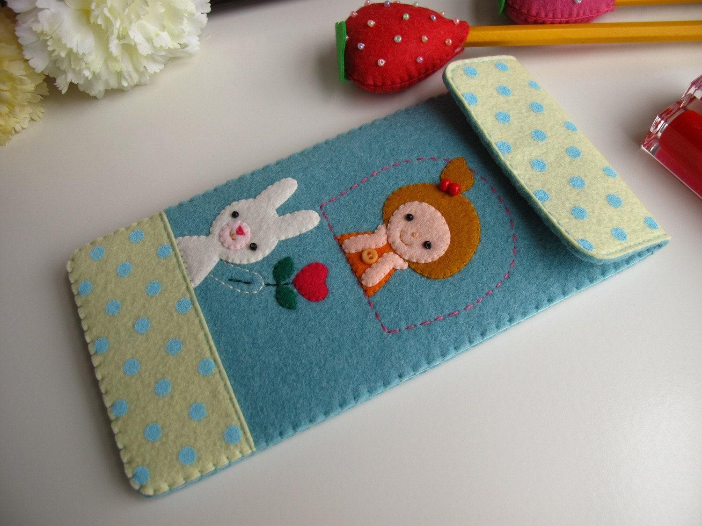 Proposal Handmade pouch-Sky Blue (Custom Size Available)