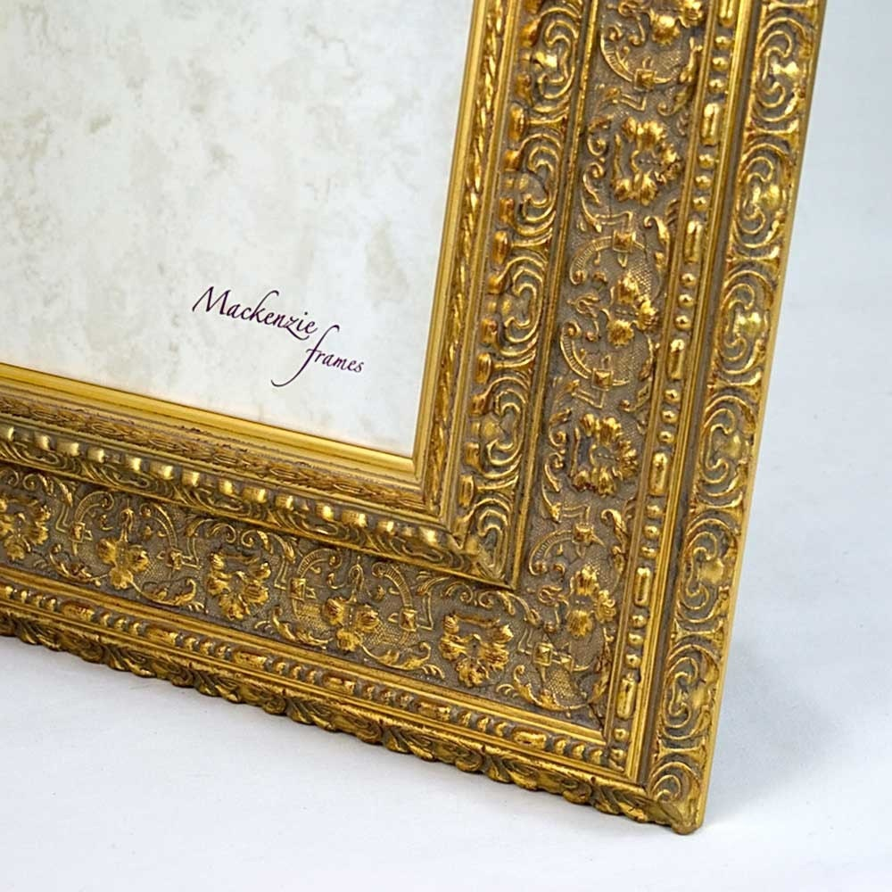 4x6 Ornate Gold Photo Frame