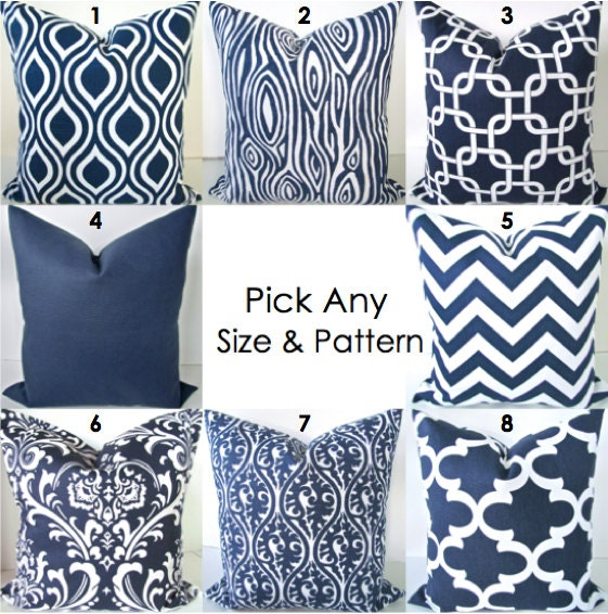 Throw Pillows MIX & MATCH ANY Size Pattern by SayItWithPillows