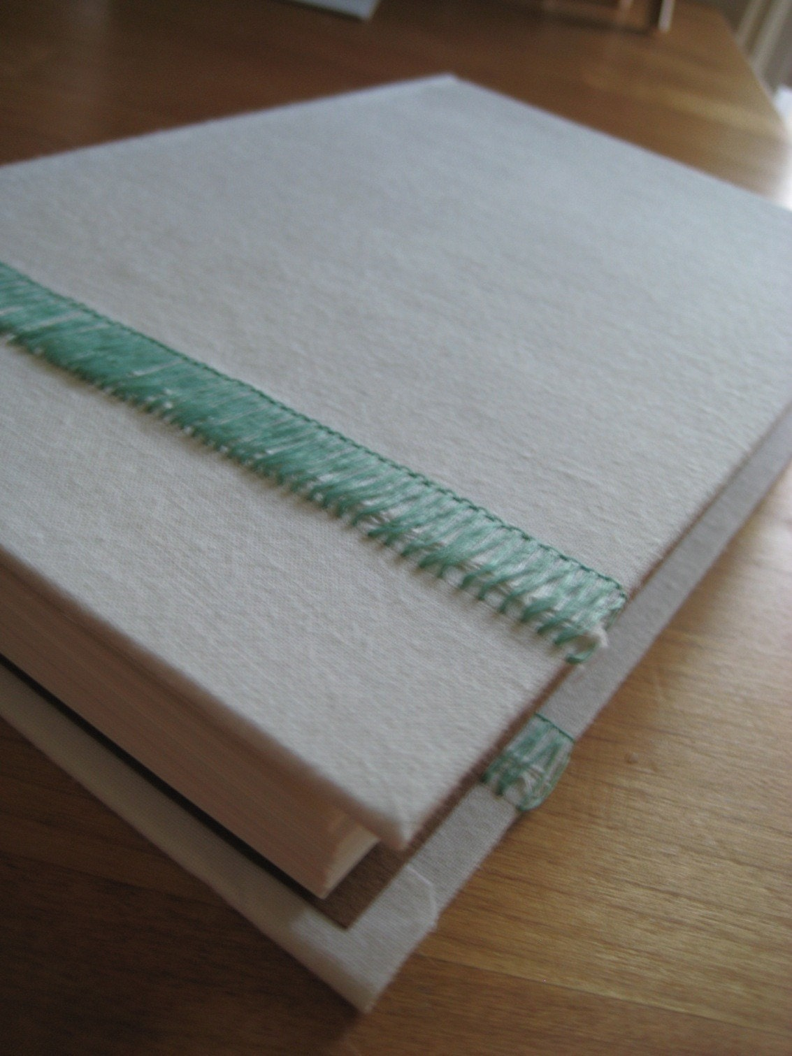 Turquoise Stitch, Large Pencil Companion Blank Book