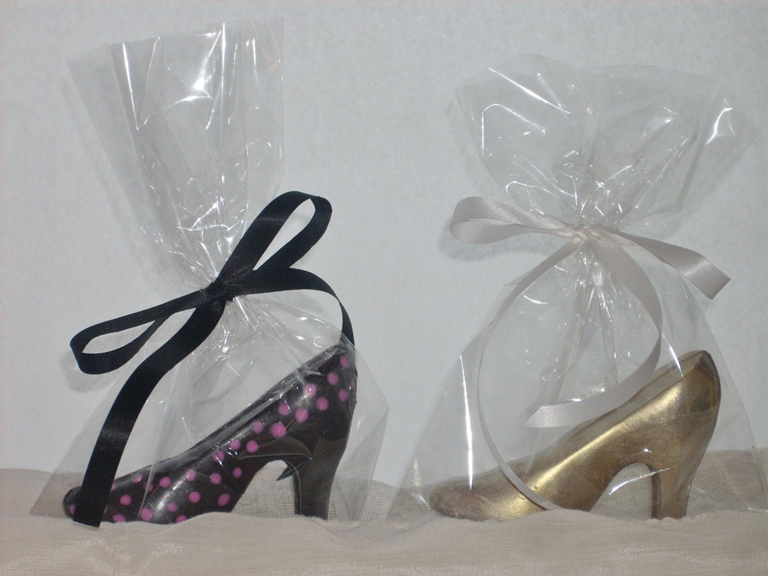 chocolate high heel shoes by candycottage on etsy