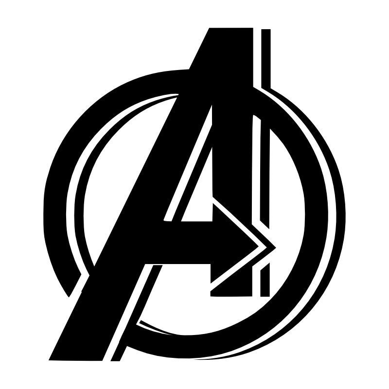 Avengers Logo Coloring Page Pictures to Pin on Pinterest  PinsDaddy