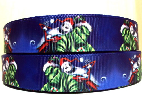 Items similar to The Nightmare Before Christmas Ribbon on Etsy