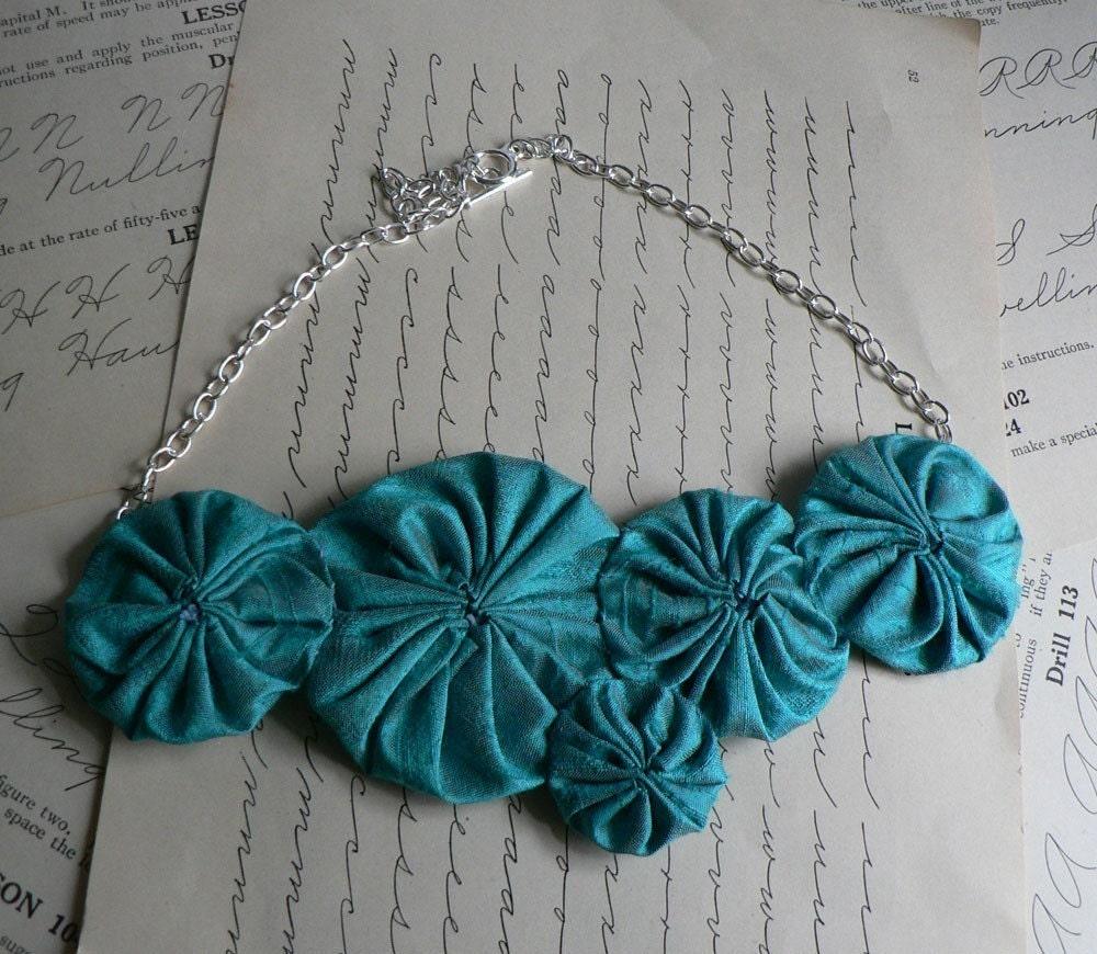 tiffany silk yo-yo necklace