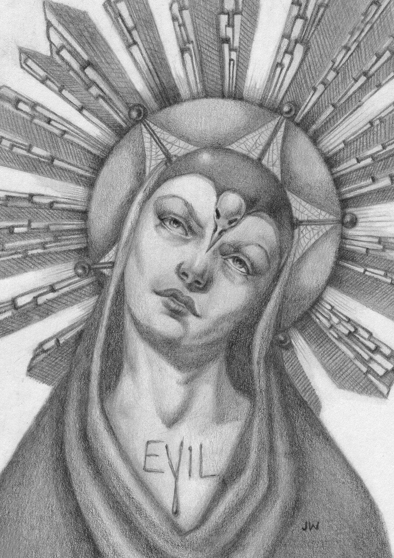 The Passion of Evil-Lyn - Fine Art Print 8x10 - JasmineWorth