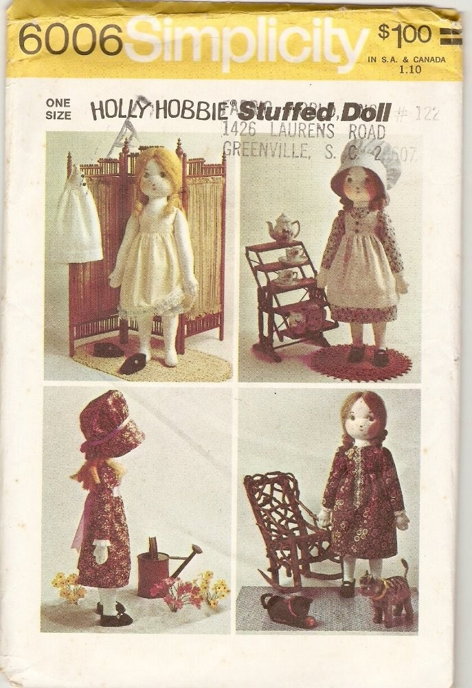 1941 Raggedy Ann, Andy Camel Doll Pattern Vintage items in Vintage