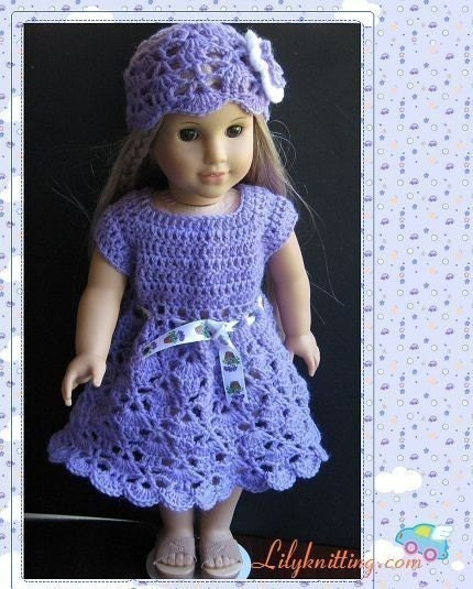 Crochet Patterns Doll Clothes : Free Crochet Pattern - American Girl Doll Vest from the Dolls Free