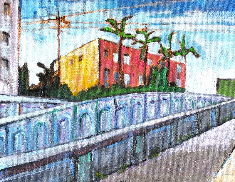 Georgia Street Bridge, San Diego Painting