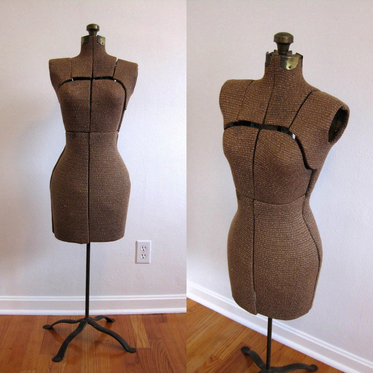 Mid century adjustable dress form by thecottagecheese on etsy
