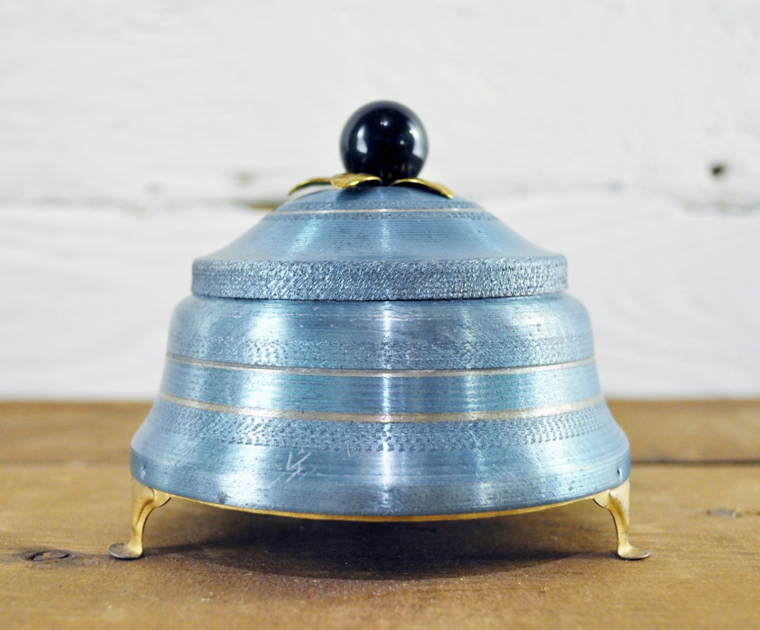 Items Similar To Vintage Antique Musical Powder Box